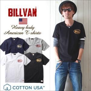 Tシャツ BILLVANアメリカンスタンダード BILL VネックTシャツ 28143 メンズ アメカジ 冬物