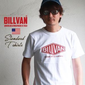 Tシャツ BILLVAN アメリカンスタンダード ダイヤロゴ プリントTシャツ 290113 ビルバン メンズ アメカジ|ブギースタイル