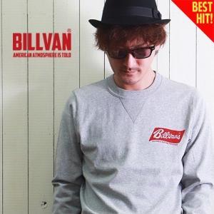ロンT BILLVAN WORKS ガゼット&リブ付き TOY STORE ヘビーロングTシャツ BV-300314LS メンズ アメカジ|boogiestyle