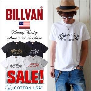 Tシャツ BILLVAN&CO アメリカンスタンダード プリントTシャツ 0628 ビルバン メンズ アメカジ boogiestyle