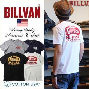 BILLVAN WORKING アメリカンスタンダード バックプリントTシャツ 0630 ビルバン メンズ アメカジ boogiestyle