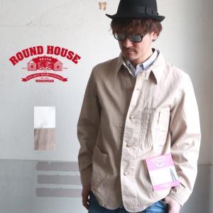 ROUNDHOUSE ラウンドハウス クラシック カバーオール メンズ アメカジ 送料無料|boogiestyle