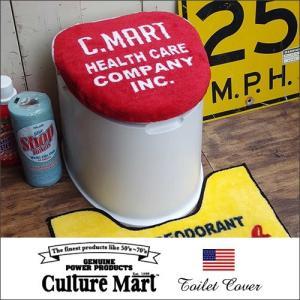 Culture Mart トイレカバー C.MART/レッド/101072 boogiestyle