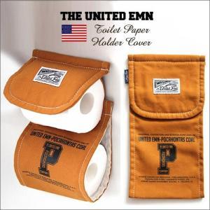 THE UNITED EMN トイレットペーパーホルダー カバー POCAHONTAS /キャメル/700024 boogiestyle