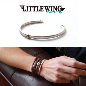 普通郵便送料無料 LITTLE WING 真鍮BLASSワンスター・バングル LW227 メンズ アメカジ|boogiestyle