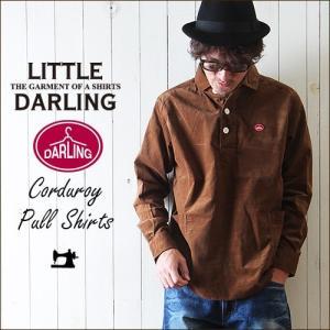 カジュアルシャツ little DARLING プルオーバー...
