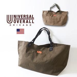 UNIVERSAL OVERALL コットン・ピケ・トートバッグユニバーサルオーバーオール アメカジ|boogiestyle
