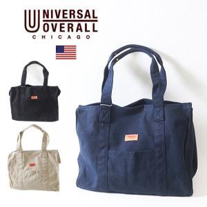 UNIVERSAL OVERALL キャンバス・ビッグトートバッグ ユニバーサルオーバーオール アメカジ|boogiestyle