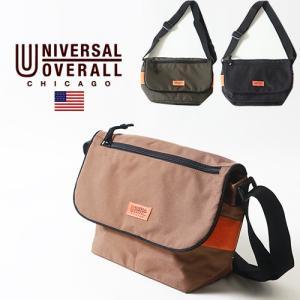 UNIVERSAL OVERALL フラップ・ミニ・ショルダーバッグ ユニバーサルオーバーオール アメカジ|boogiestyle