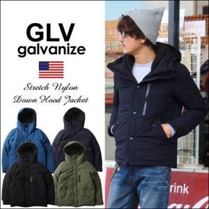 GLV/galvanize ガルバナイズ ストレッチナイロン...