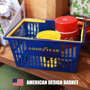 GOOD YEAR アメリカンデザイン ショッピングバスケット グッドイヤーの写真
