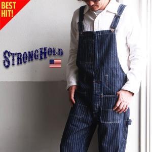 STRONG HOLD ヴィンテージワークスタイル ウォバッシュオーバーオール ストロングホールド ...