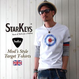 Tシャツ STARKEYS ターゲット UK MODS Tシャツ メンズ アメカジ|boogiestyle