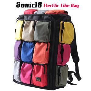 SONIC18 カラー18ポケット リュックサック  アメカジ メンズ アメカジ 送料無料|boogiestyle