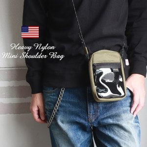 冬物クリアランスセール PVCポケット コーデュラナイロン ミニショルダーバッグ rsn81023|boogiestyle