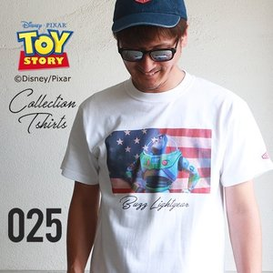 BILLVAN <トイ・ストーリー> コレクションTシャツ / バズ・ライトイヤー トイストーリー ビルバン TOYSTORY|boogiestyle