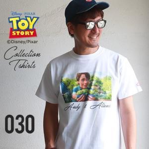BILLVAN <トイ・ストーリー> コレクションTシャツ アンディ&エイリアン TOYSTORY トイストーリー ビルバン アメカジ|boogiestyle
