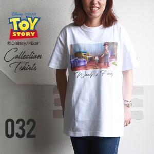 BILLVAN <トイ・ストーリー> コレクションTシャツ / ウッディ&フォーキー TOYSTORY トイストーリー ビルバン アメカジ|boogiestyle