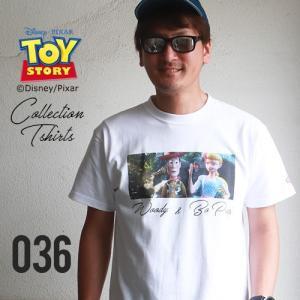 BILLVAN <トイ・ストーリー> コレクションTシャツ/ウッディ&ボー・ピープ トイストーリー ビルバン TOYSTORY|boogiestyle