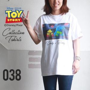 BILLVAN <トイ・ストーリー> コレクションTシャツ / ダッキー&バニー TOYSTORY トイストーリー ビルバン アメカジ|boogiestyle