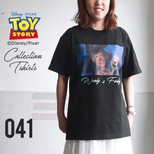 BILLVAN <トイ・ストーリー> コレクションTシャツ / ウッディ&フォーキー トイストーリー TOYSTORY ビルバン アメカジ|boogiestyle