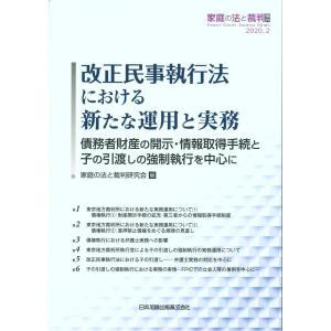 改正民事執行法における新たな運用と実務