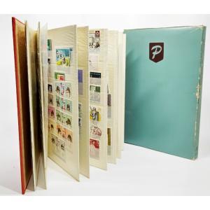 使用済み趣味の外国の切手コレクション/ストック・ブック入り