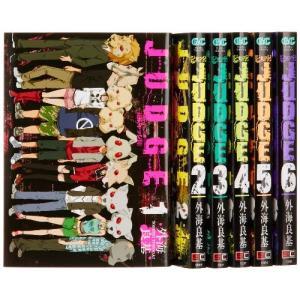 (古本セット)JUDGE_コミック_全6巻完結セット_(ガンガンコミックス)|book-station