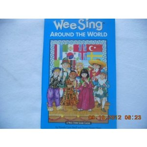 (単品)Wee_Sing_around_the_World_book