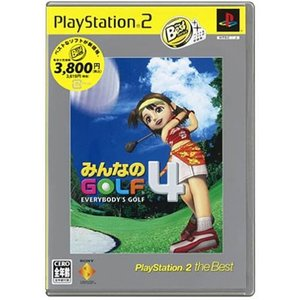 (GAME)みんなのGOLF4_PlayStation_2_the_Best|book-station