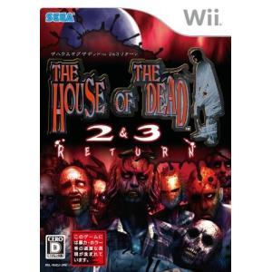 (GAME)ザ・ハウス・オブ・ザ・デッド_2&3_リターン_-_Wii|book-station