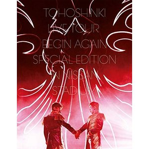 (Blu-ray)東方神起_LIVE_TOUR_~Begin_Again~_Special_Edition_in_NISSAN_STADIUM(Blu-ray_Disc2枚組)(初回生産限定盤)|book-station