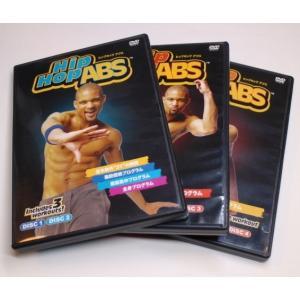 DVD美品 ヒップホップアブス Hip Hop ABS DVD4枚セット エクササイズDVD 国内正規品 ショップジャパン