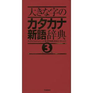 大きな字のカタカナ新語辞典 bookfan