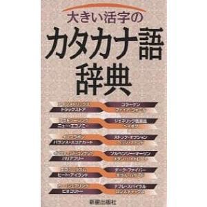 大きい活字のカタカナ語辞典 / 新星出版社編集部|bookfan