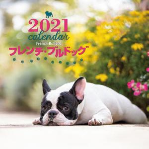 カレンダー '21 フレンチ・ブルドッグ / 中村陽子|bookfan
