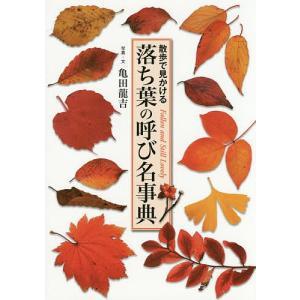 落ち葉の呼び名事典 散歩で見かける Fallen and Still Lovely / 亀田龍吉