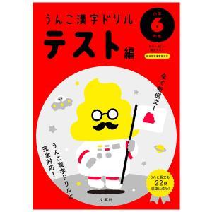 うんこ漢字ドリルテスト編 日本一楽しい漢字テスト 小学6年生...