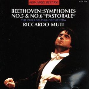 ベートーヴェン:交響曲NO.5,6/リッカルド・ムーティ/フィラデルフィア管弦楽団 bookoffonline2
