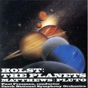 ホルスト:組曲「惑星」[コリン・マシューズ:冥王星 付]/ポール・フリーマン