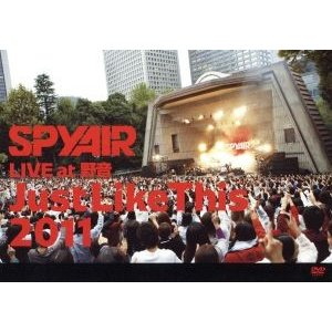 SPYAIR LIVE at 野音 Just Like This 2011/SPYAIR|bookoffonline2