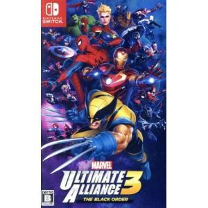 MARVEL ULTIMATE ALLIANCE 3: The Black Order/NintendoSwitch|bookoffonline2