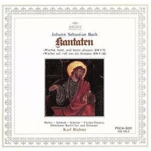 バッハ:カンタータ第70番・140番/カール・リヒター,ミュンヘン・バッハ管弦楽団|bookoffonline