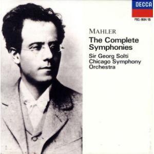 マーラー:交響曲全集/サー・ゲオルグ・ショルティ/シカゴ交響楽団 bookoffonline