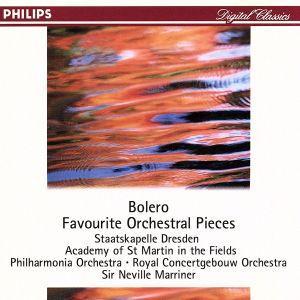 ラヴェル:ボレロ〜マリナー/名管弦楽曲集/ネヴィル・マリナー bookoffonline