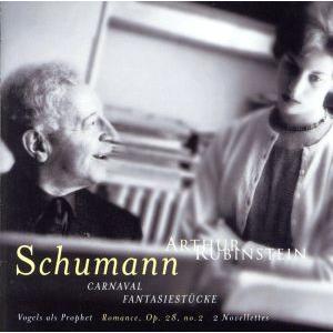 シューマン:謝肉祭、幻想小曲集(1962年録音)/A.ルービンシュタイン