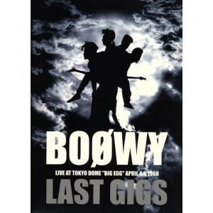 LAST GIGS/BOΦWY|bookoffonline
