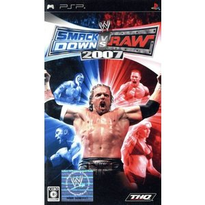 WWE2007 SmackDown vs Raw/PSP|bookoffonline