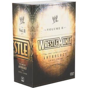 WWE レッスルマニア・アンソロジーBOX2 VIII−XIV/(格闘技)