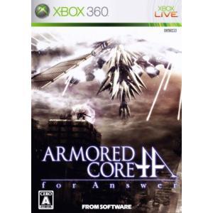 アーマード・コア フォー アンサー/Xbox360|bookoffonline